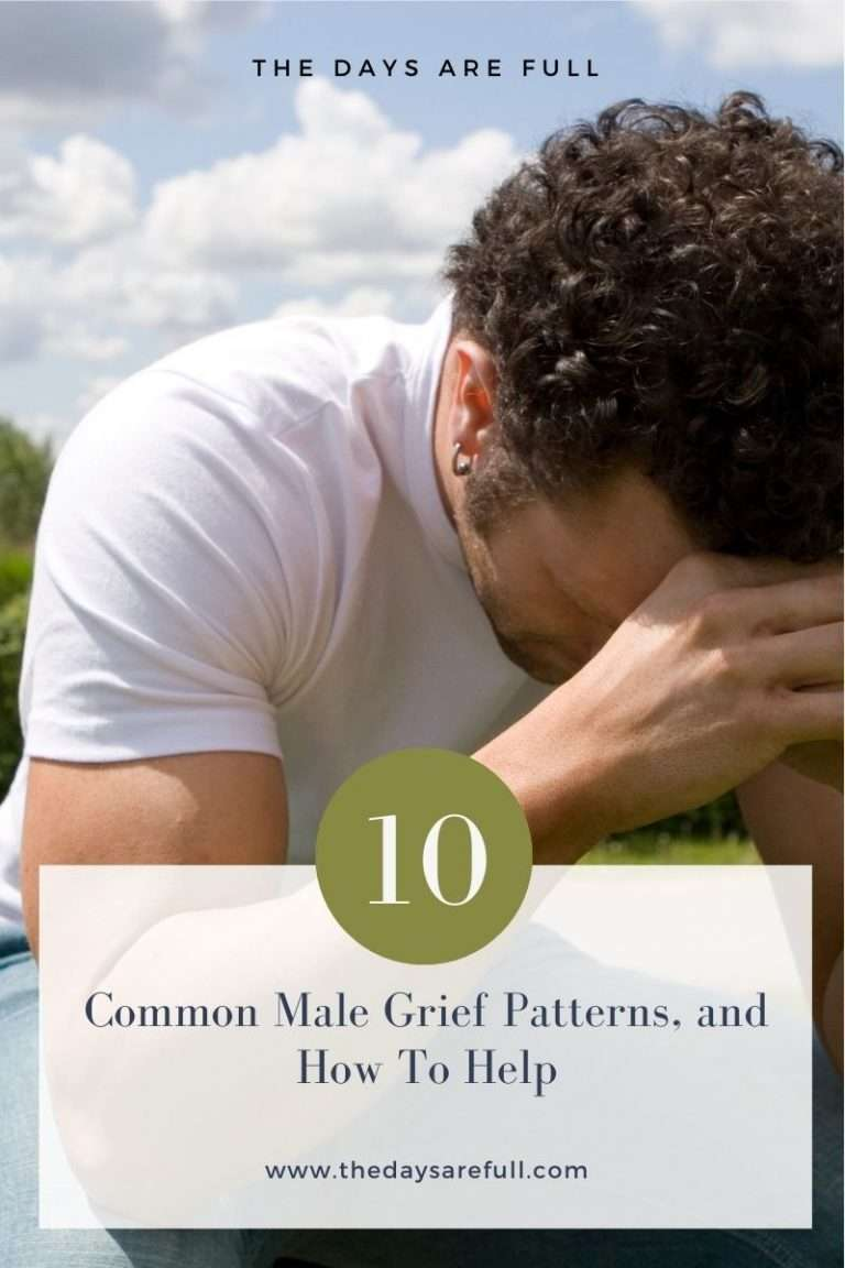 male grief patterns